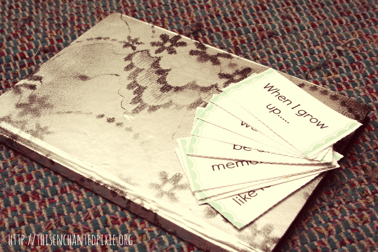 journal prompt cards
