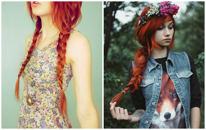 Dark Copper Hair Copper hair collage