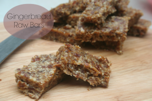 gingerbread raw bars