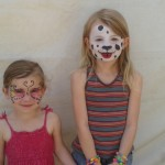 face painted cuties