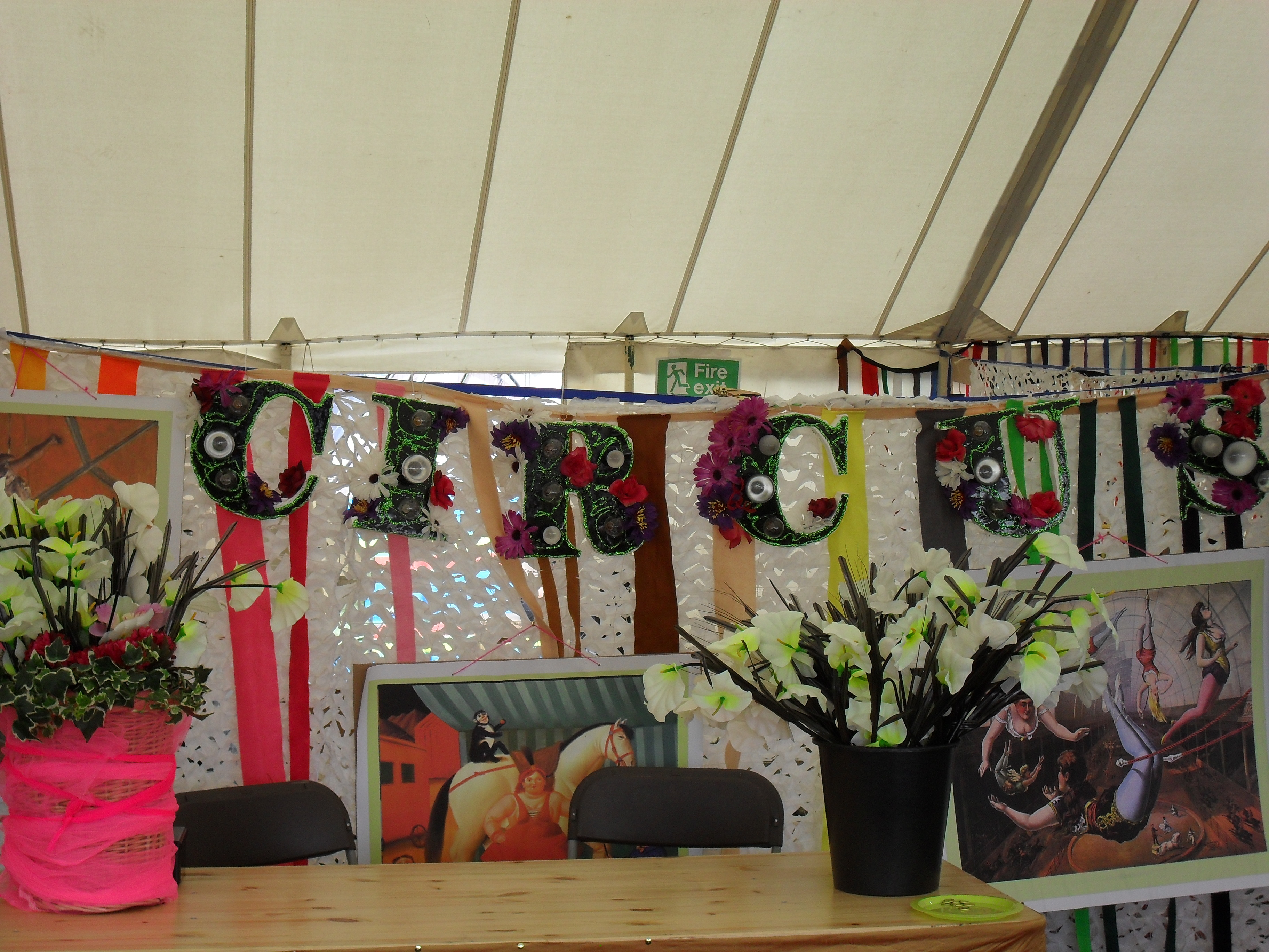 Art Tent