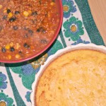 Veggie Chilli and Cornbread