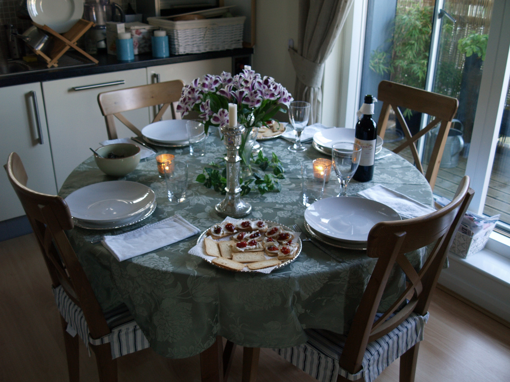 hosting your first dinner party
