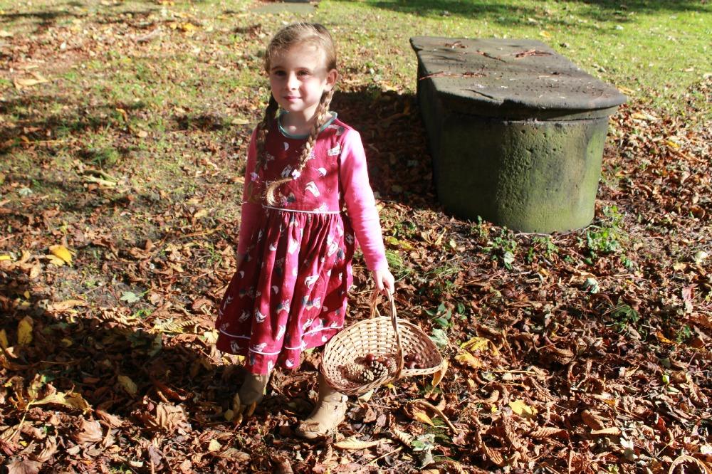 autumn treasure hunting