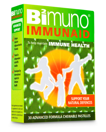 Support your natural defences with IMMUNAID