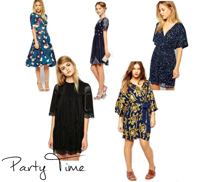 asos party dresses