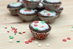 christmas ginger cupcakes