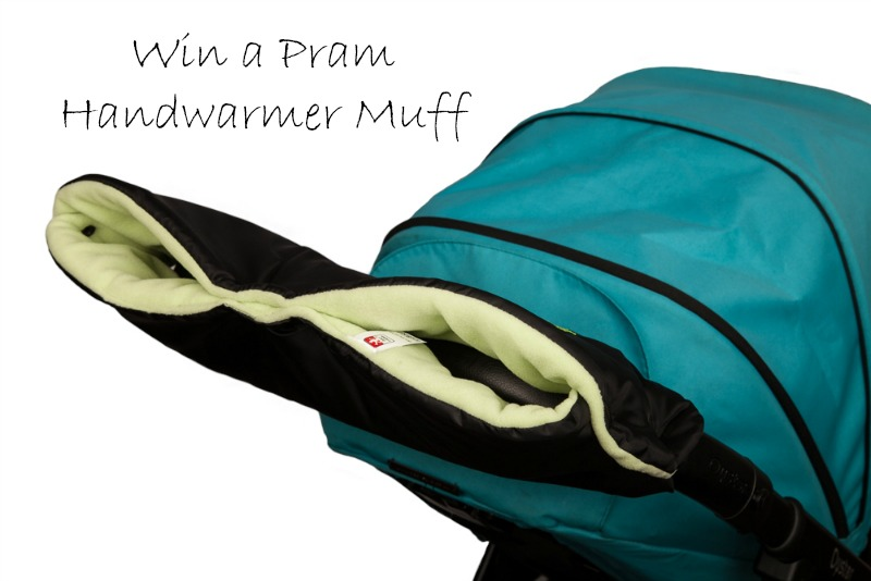 Pram Handwarmer – keeping your fingers toasty this winter