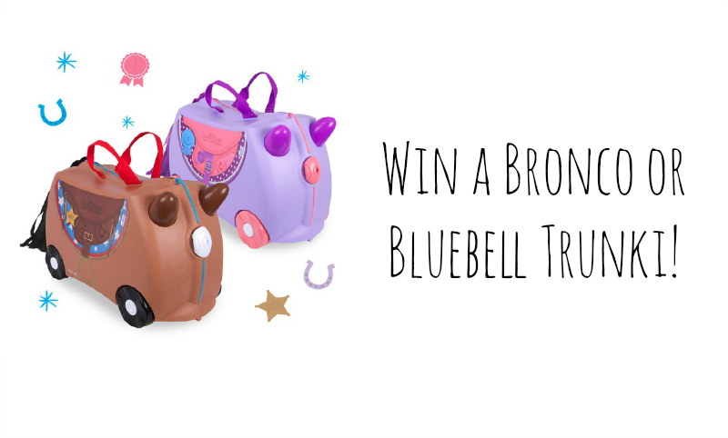 Trunki Bronco + getting ready for baby brother