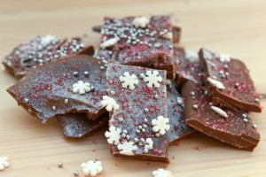 festive chocolate bark