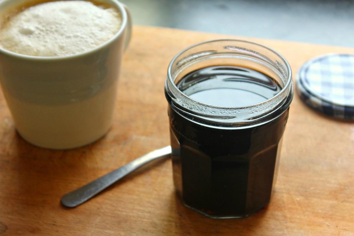 Кофейный сироп рецепт