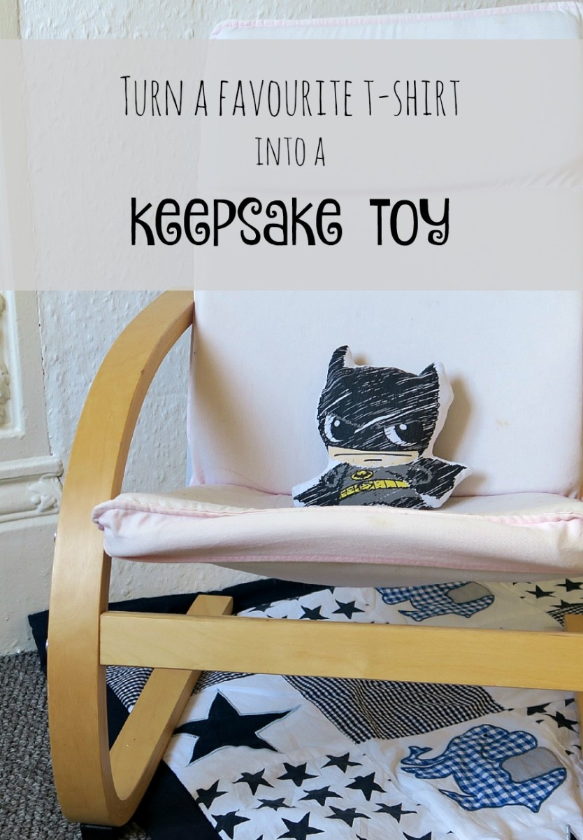 Turn a favourite t-shirt into a keepsake toy