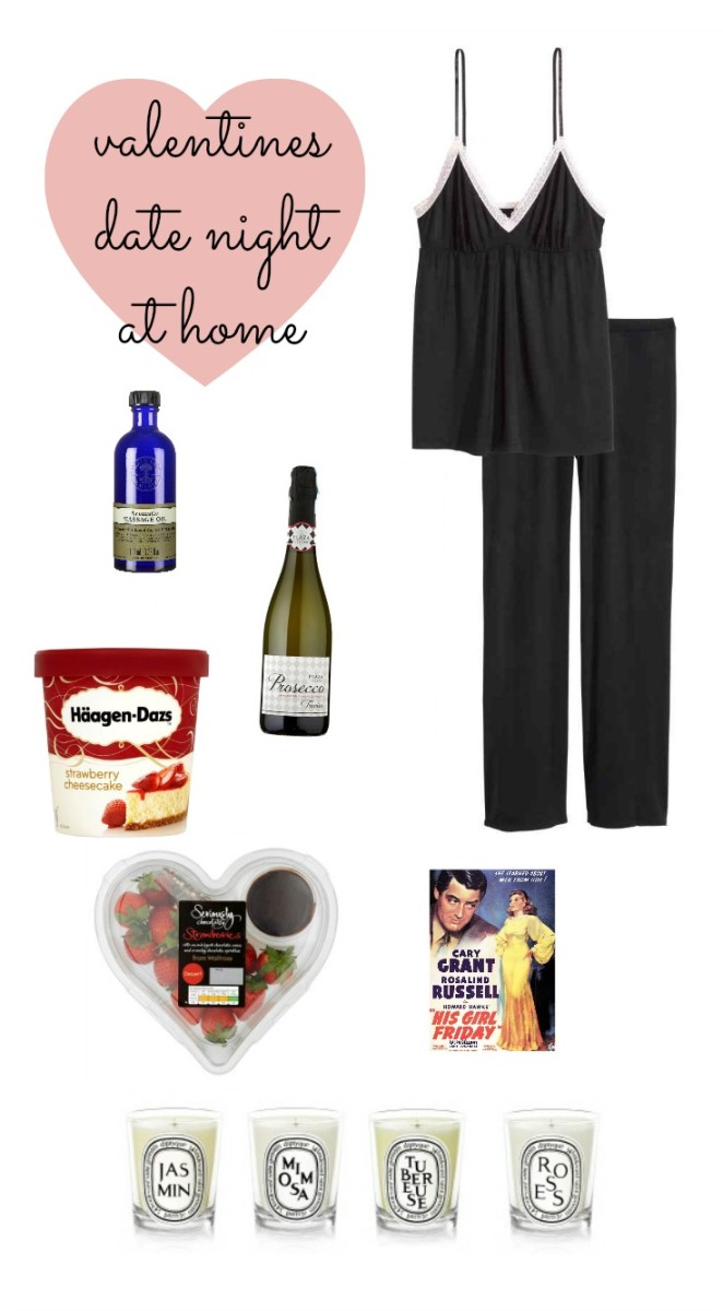 ideas romantic valentines date night at home - Enchanted Pixie