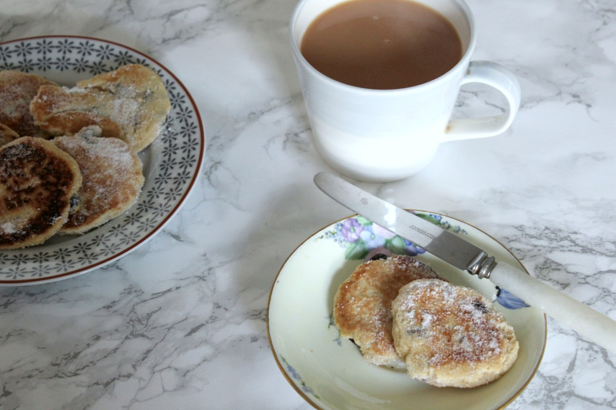 welsh cakes for afternoon tea