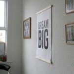 DREAM BIG desenio poster