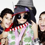 Eastenders star Nina Wadia and her two children, daughter Tia aged 12, and son Aidan, aged 9