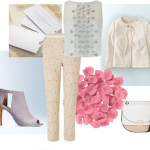 a spring wedding outfit