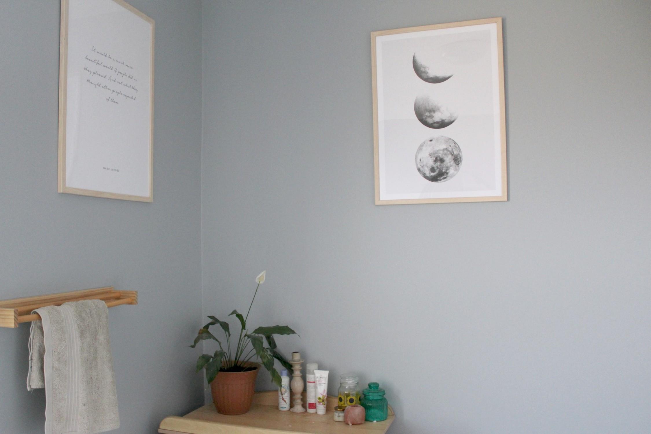 bathroom desenio posters