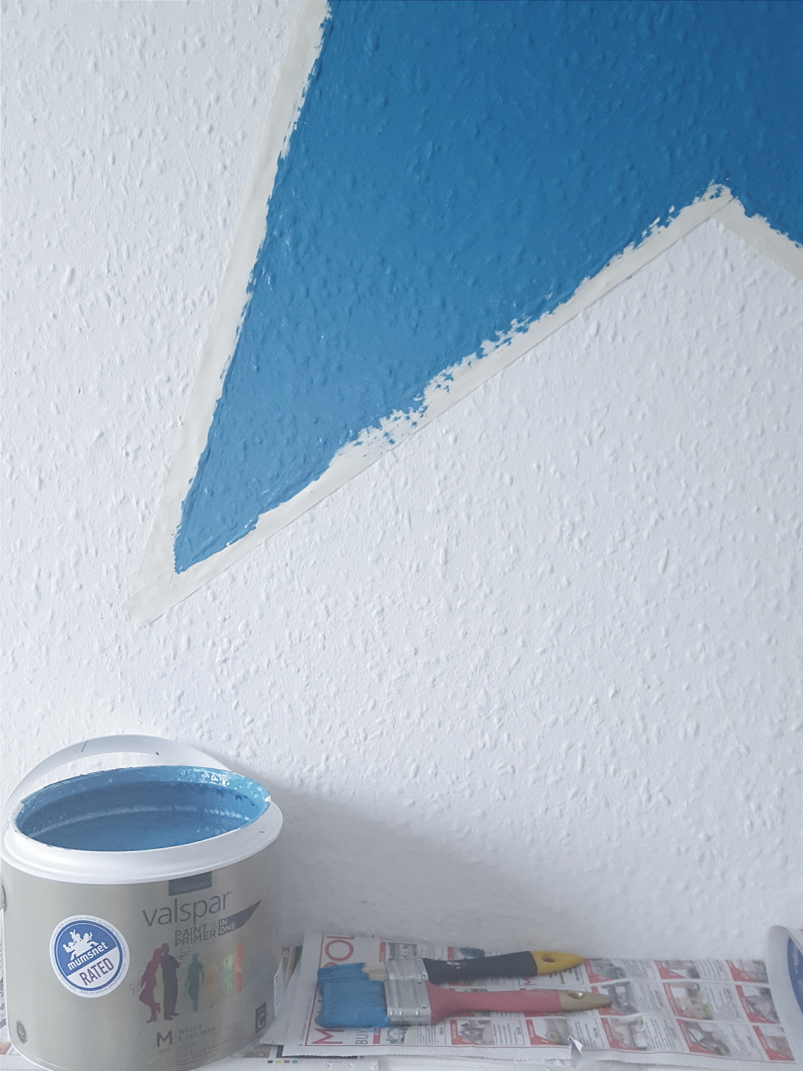 Review Valspar Paint from BQ Enchanted Pixie