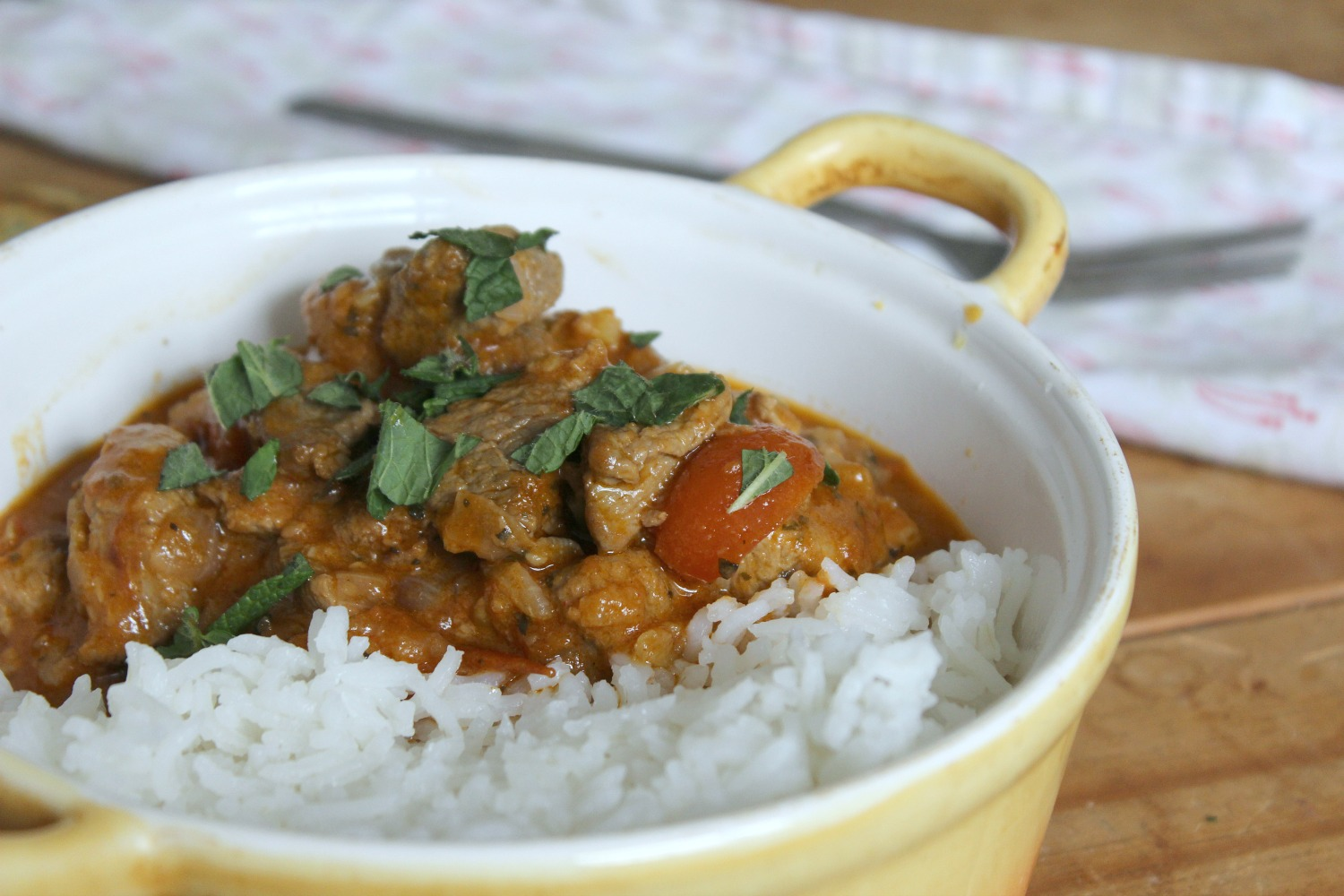 slow food - lamb curry