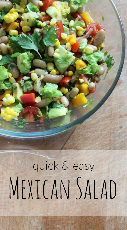 quick easy mexican salad recipe
