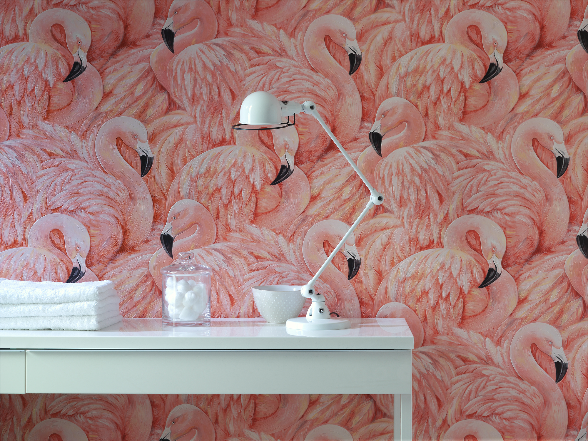 Flamingo wallpaper giveaway