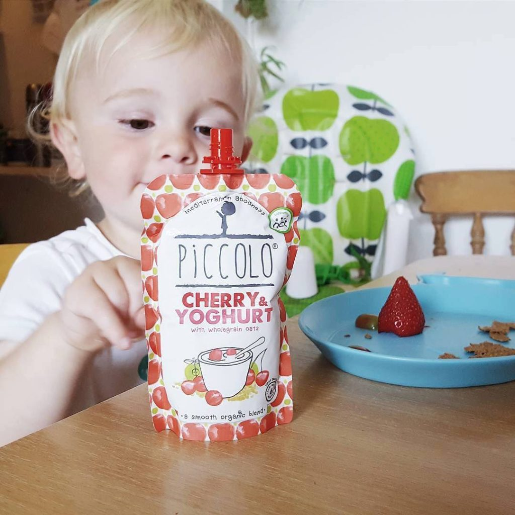 friday feels - piccolo baby food pouches