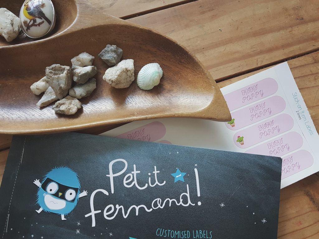 Review | Petit-Fernand Name Labels and a giveaway