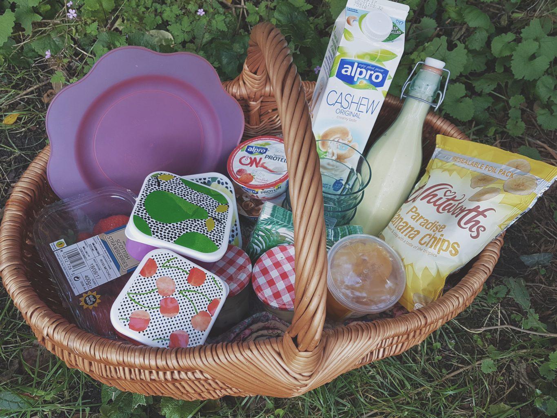 Summer picnics with Alpro & 3 vegan picnic recipes