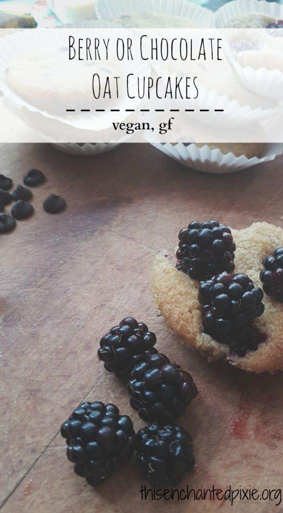 Oat cupakes - vegan and gf