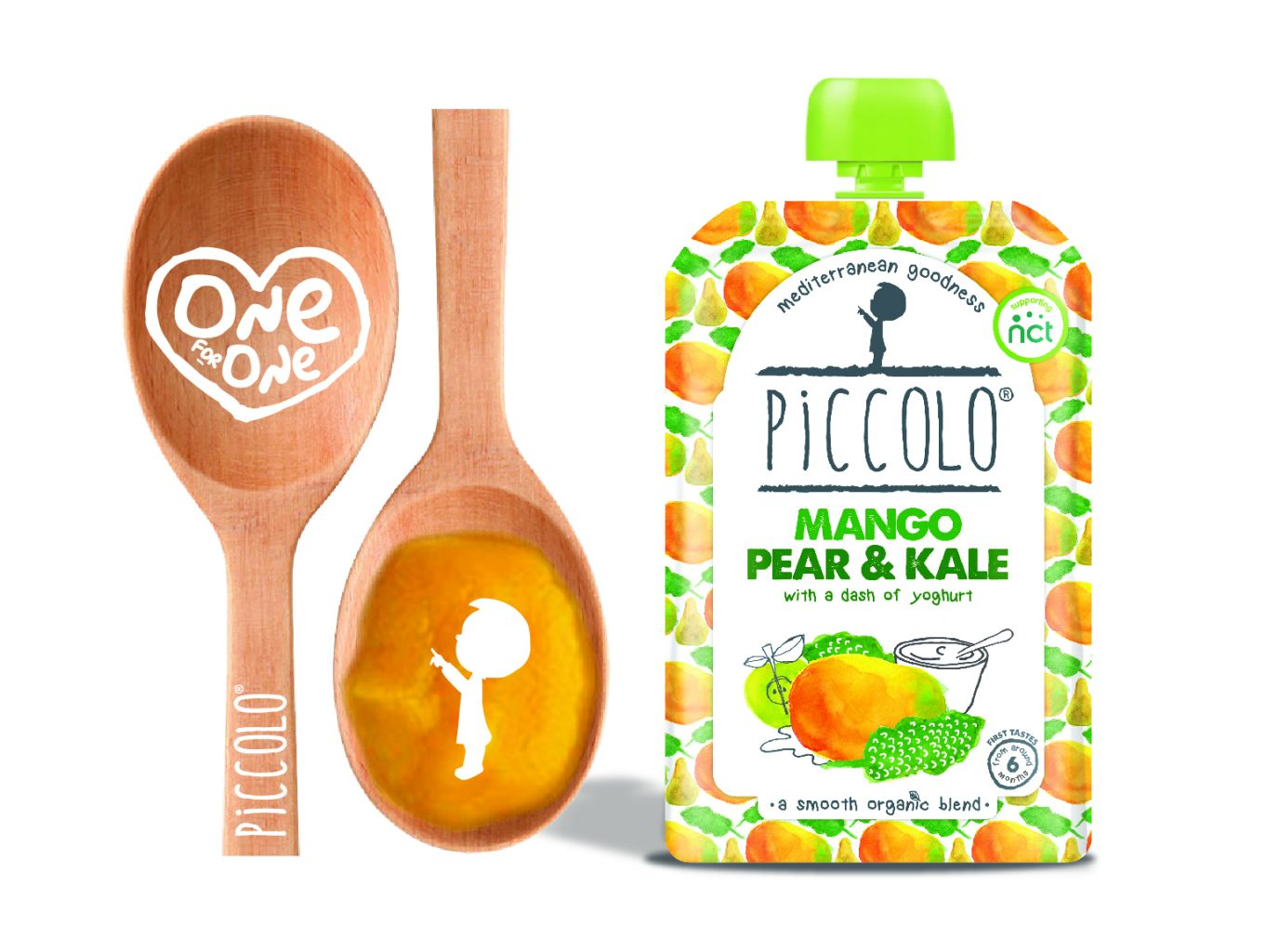 Piccolo One for One + win a months worth of baby food pouches!