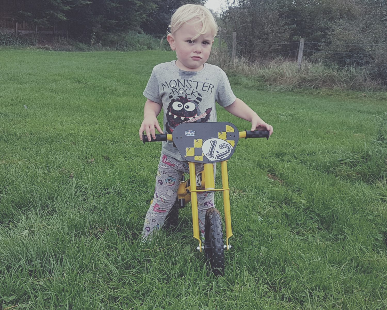 Review | Chicco Balance Bike from Kiddies Kingdom