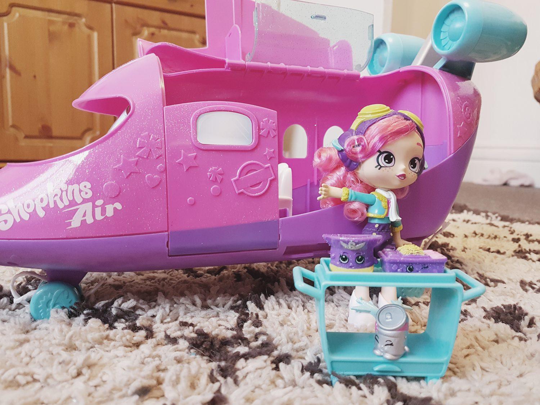 Review  Shopkins Skyanna Jet