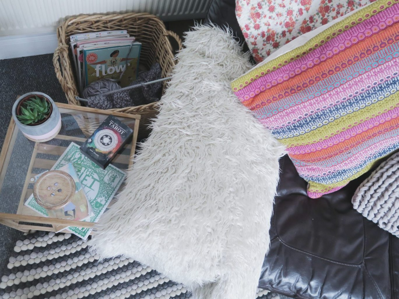 Winter Home Makeover ~ creating a cosy space