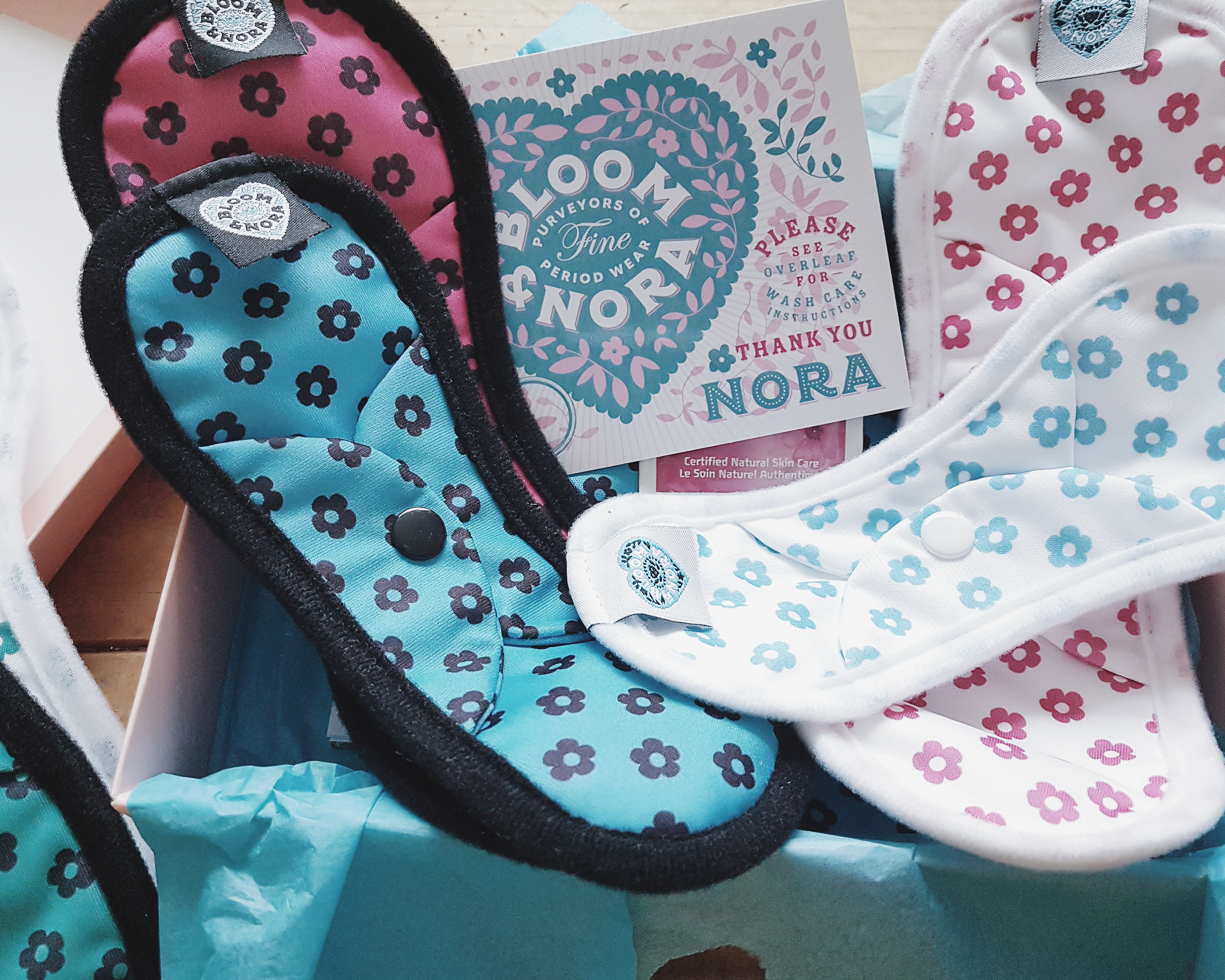 Switch to Cloth  Bloom & Nora Reusable Sanitary Pads